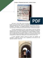 """Reportagem - Dois dias no """" Parlamento dos jovens"""",  trabalho da aluna Ana Sofia Cadete."""