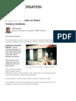 John Lenarcic, Why Australia Needs an Asian Century Institute, 18.04.2012