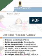 Planificación Educación Parvularia