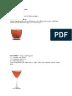 Drinks Oficiais