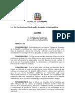 Ley 91, Que Instituye El Colegio De Abogados De La República