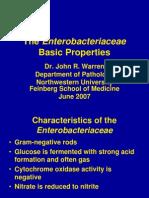 01-Enterobacteriaceae Basic Properties v1- 3