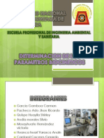 Determinacion de Los Parametros Biocineticos