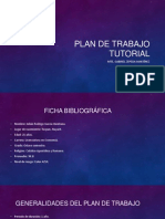 Plan de Trabajo Tutorial