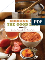 ooking Up the Good Life Creative Recipes for the Family Table