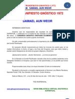 02 52 ORIGINAL Gran Manifiesto Gnostico 1972 Www.gftaognosticaespiritual.org