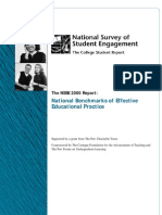NSSE 2000 National Report