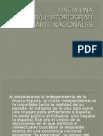Hacia Una Literatura,Historiografia y Arte Nacionales