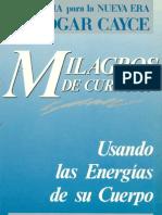 Milagros de Curación, Cayce, Edgar