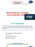 15 26 Psicologia de La Posible Evolucion Del Hombre p. d. Ouspensky Www.gftaognosticaespiritual.o