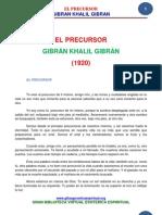 14 05 Gibran Khalil Gibran El Precursor Www.gftaognosticaespiritual.org