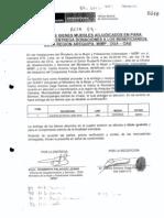 Acta firmada Cong. Zamudio recibiendo donaciones de Ana Jara