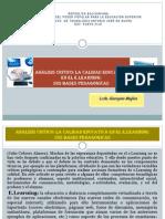 ANALISIS La Calidad Educativa E Learning