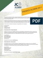Premios Alumni 2011