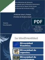 Diapositivas Perdida de Biodiversidad