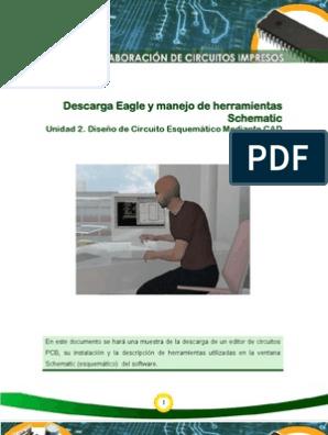 U2 Instalacion Eagle y Herramientas Schematic | Placa de ... on eagle chart, eagle information, eagle photography, eagle design,