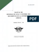 Doc 9476 Manual de Sistemas de Guia y Control, Del Movimiento en La Superficie (Smgcs)