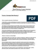 Guia Trucoteca Real Racing 3 Android