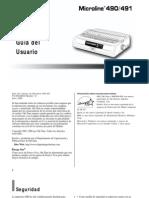 Manual Okidata 491
