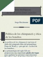 Rac3adces Biolc3b3gicas de Las Disposiciones Morales