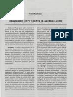 Imaginarios Sobre El Pobre en America Latina