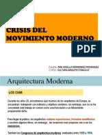 Ciam-crisis Mov Moderno