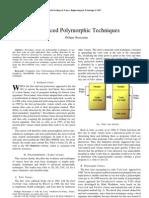 Advanced Polymorphic Techniques