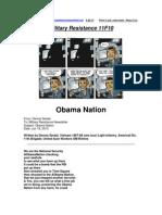 Military Resistance 11F10 Obama Nation