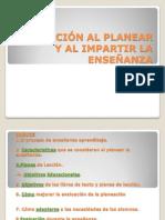 Evaluación de la Planeación