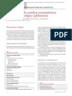 01.008 Indicaciones de estudios manométricos y de acidez esofágica (pHmetría)