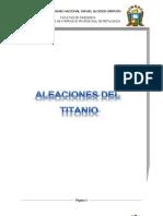 Aleaciones Del Titanio
