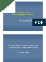 Ara 2009 - Adeherencia a Enfermedades Cronicas (1)