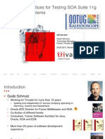 Best Practices for Testing SOA Suite 11g Based Systems Guido Schmutz
