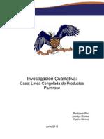 Investigación Cualitativa Caso Linea de Productos congelados Plumrose