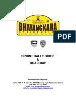 BHAYANGKARA SPRINT RALLY 2013, SPRINT RALLY GUIDE, KEJURNAS SPRINT RALLY PUTARAN 1, BINUANG, KALSEL 29-30 JUNI.