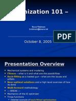 Optimization 101 Rev A