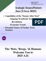 Future Strategic Issues and Warfare