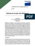 Internet en el aula-Webquest.pdf