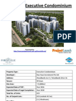 Forestville Executive Condominium