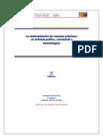 La Sistematizacion de Nuestras Practicas-V1