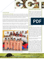 CCT Donor Newsletter February and March 2013