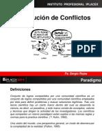 Resolución de Conflictos Clase II
