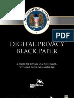 Digital Privacy Black Paper