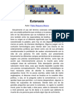 Philosophica Enciclopedia Eutanasia