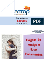 Fatap - Exegese at e Nt
