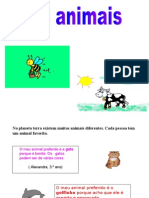 Power Point Animais