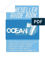 OceanSeven - Reseller Guide Book - April 2013