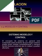 1.4 Modelos y Control