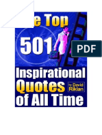 501 Inspirational Quotes of All Time - David Riklan