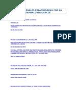 Normas Legales Relacionadas Con La Farmacovigilancia